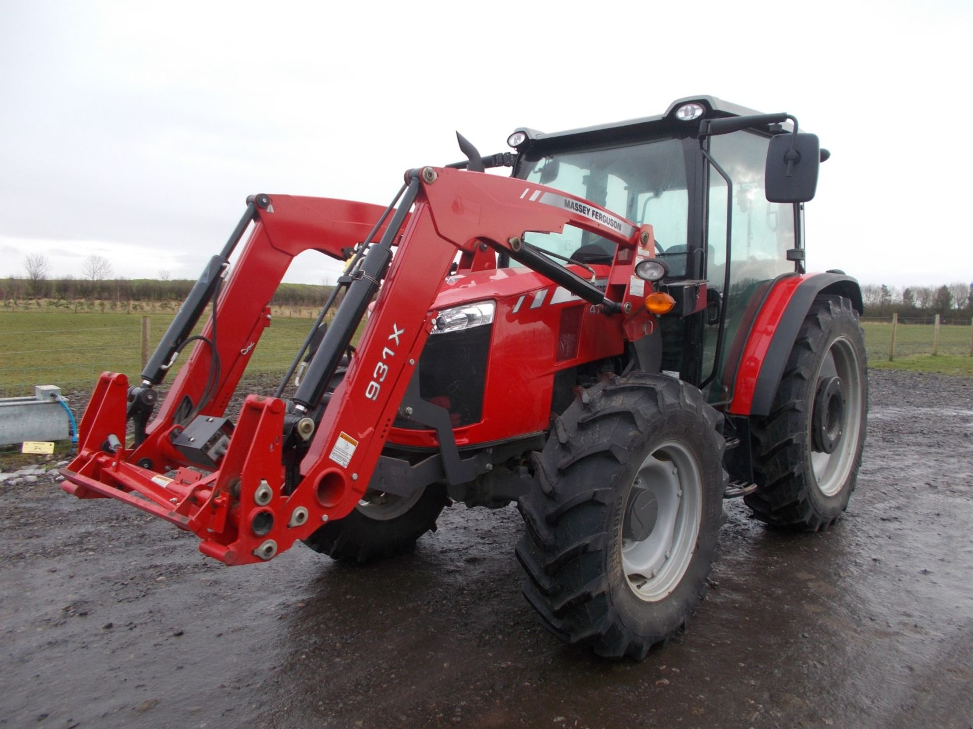 2018 MASSEY FERGUSON 4710 4WD TRACTOR WITH LOADER, AGCO 3.3 LITRE 3CYL TURBO DIESEL *PLUS VAT* - Image 8 of 21