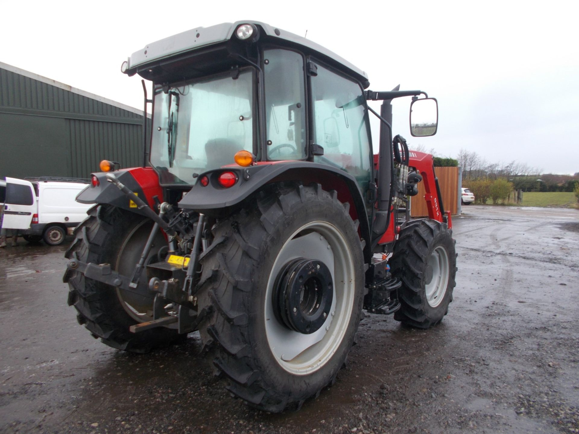 2018 MASSEY FERGUSON 4710 4WD TRACTOR WITH LOADER, AGCO 3.3 LITRE 3CYL TURBO DIESEL *PLUS VAT* - Image 7 of 21