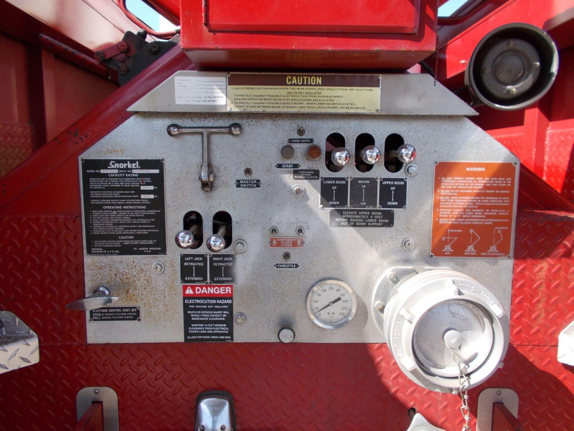 1978 HENDRICKSON 871-LPS SNORKEL FIRE TRUCK, U.S. IMPORT, 7.0 LITRE DETROIT DIESEL ENGINE *PLUS VAT* - Image 14 of 22