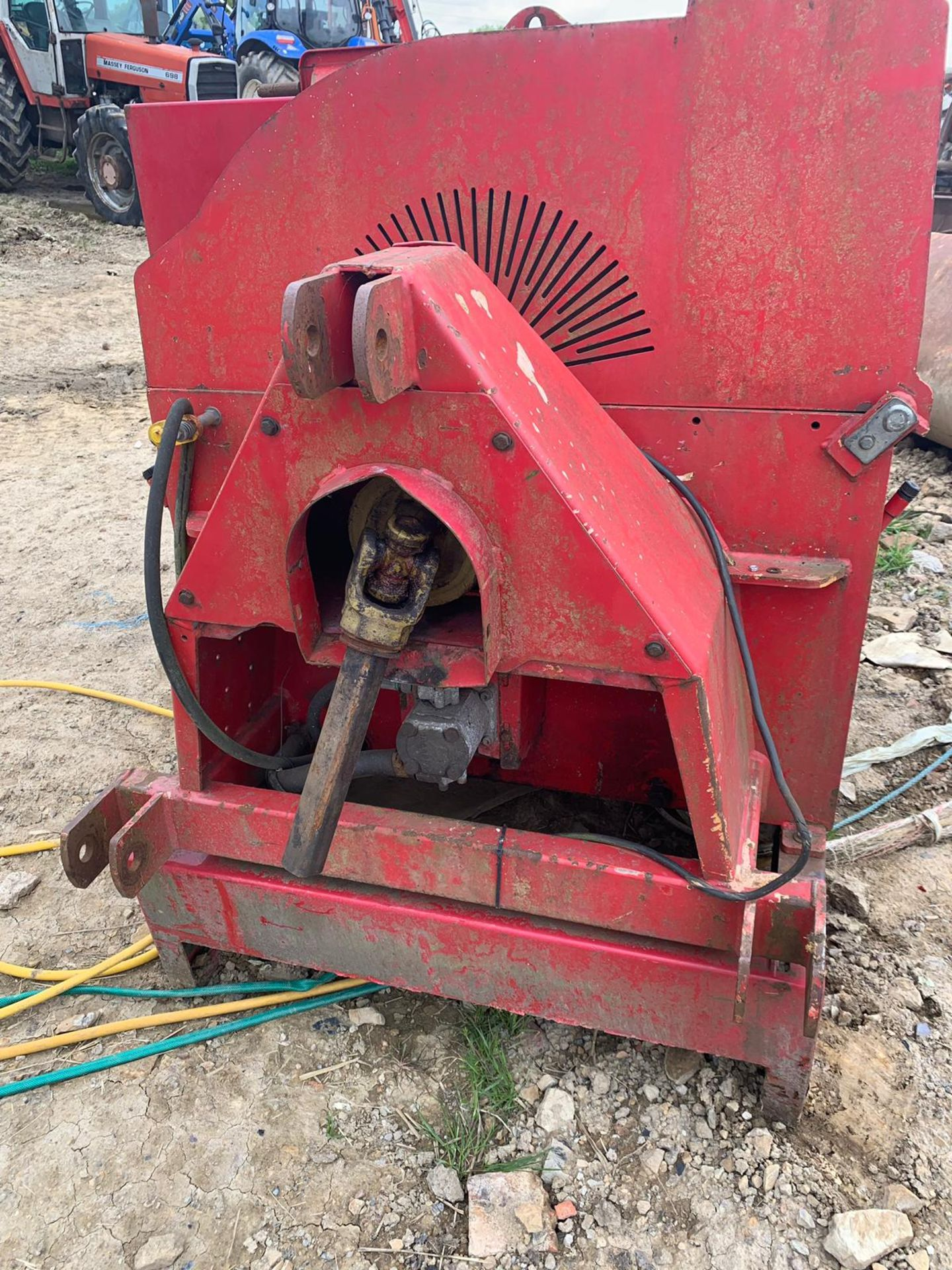 2007 TP 250 PTO WOOD CHIPPER WITH HYDRAULIC INFEED *PLUS VAT* - Image 4 of 9