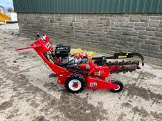 BARRETO 912 WALK BEHIND TRENCHER, HONDA GX270 ENGINE, IN GOOD CONDITION *PLUS VAT*