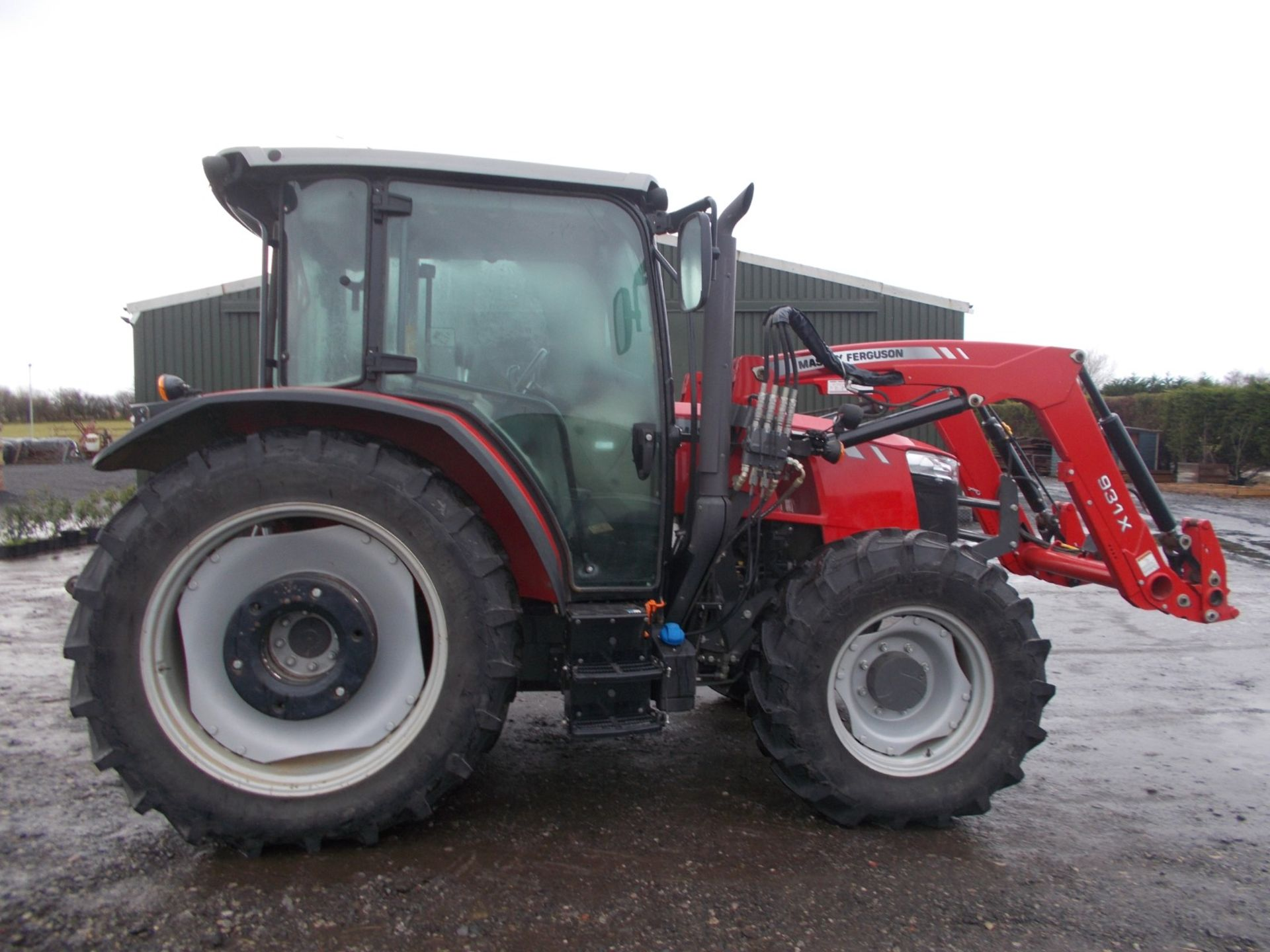 2018 MASSEY FERGUSON 4710 4WD TRACTOR WITH LOADER, AGCO 3.3 LITRE 3CYL TURBO DIESEL *PLUS VAT*