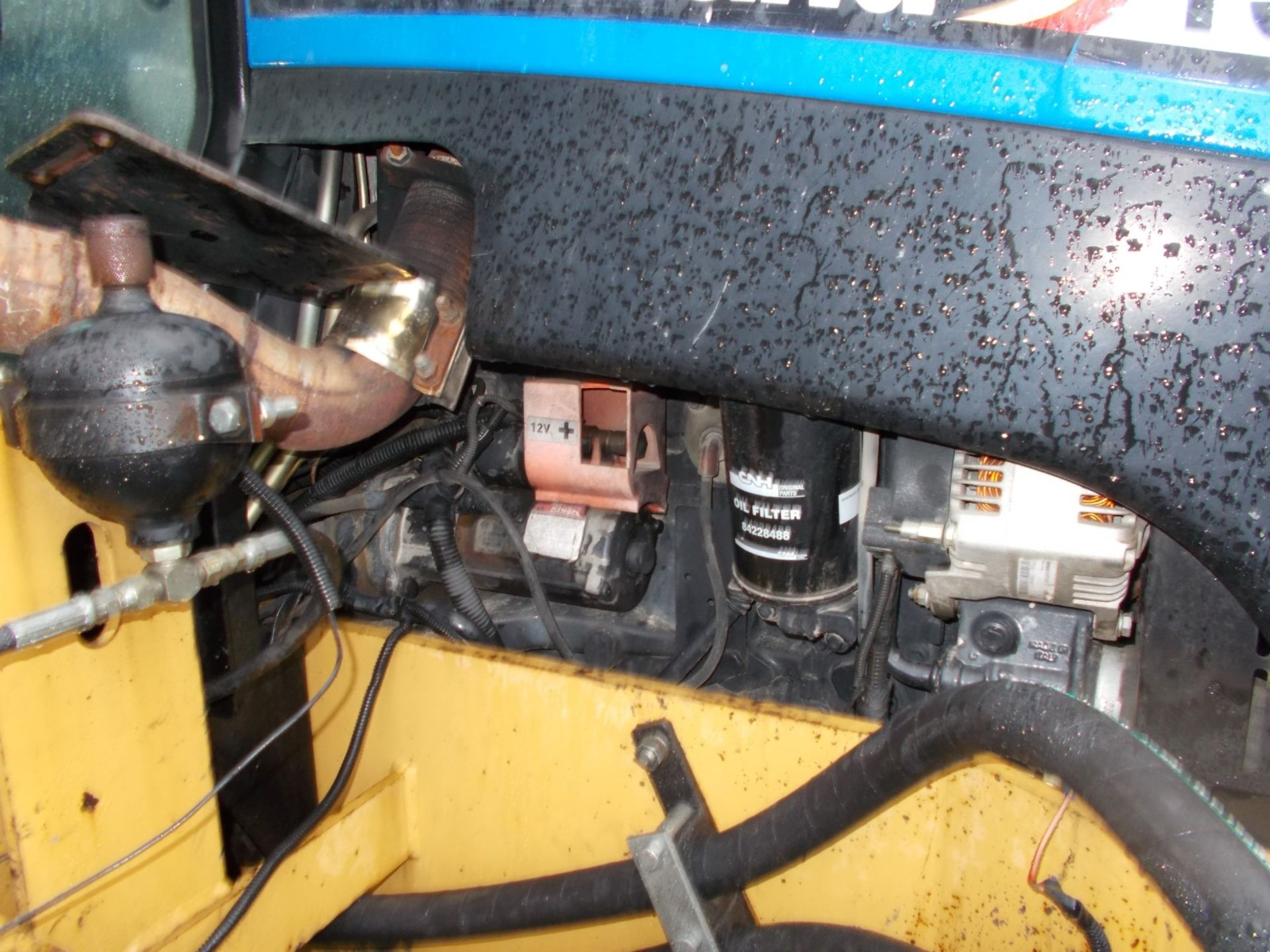 2003 NEW HOLLAND TS100A TRACTOR WITH MOWER ATTACHMENT, 4.5 LITRE 100HP TURBO DIESEL *PLUS VAT* - Image 24 of 24