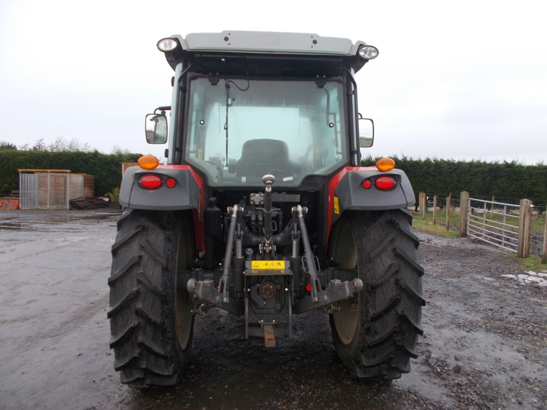 2018 MASSEY FERGUSON 4710 4WD TRACTOR WITH LOADER, AGCO 3.3 LITRE 3CYL TURBO DIESEL *PLUS VAT* - Image 6 of 21