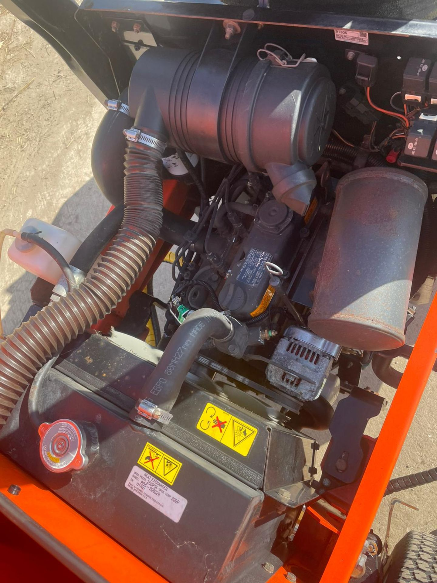 2013 JACOBSON 628D RIDE ON LAWN MOWER OUT FRONT, VERY GOOD CONDITION, 4 WHEEL DRIVE *NO VAT* - Image 7 of 7
