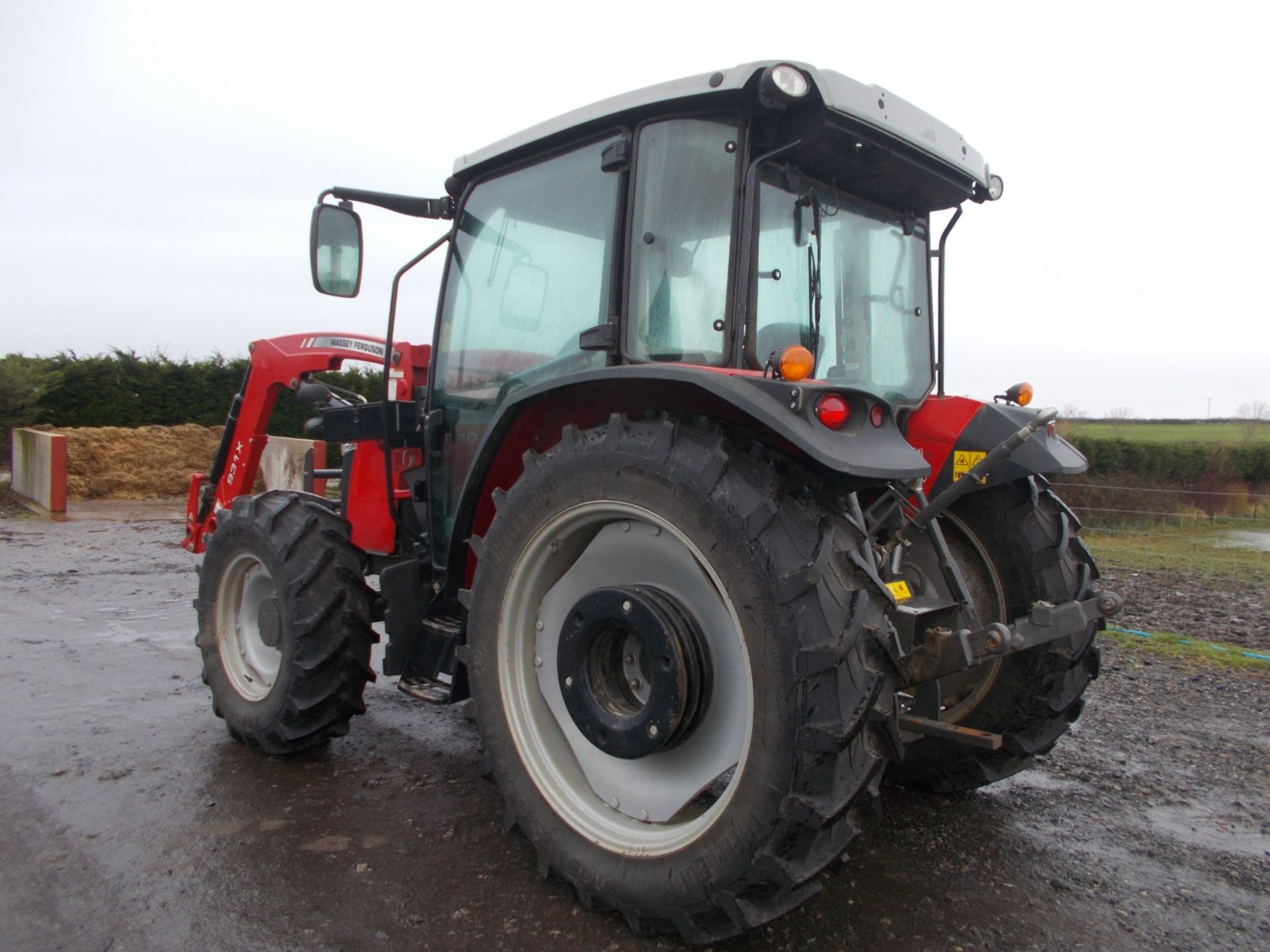 2018 MASSEY FERGUSON 4710 4WD TRACTOR WITH LOADER, AGCO 3.3 LITRE 3CYL TURBO DIESEL *PLUS VAT* - Image 5 of 21