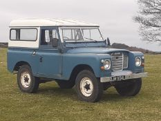"1972 LAND ROVER 88"" - 4 CYL 2.5 DIESEL NATURALLY ASPIRATED, DRIVES AS IT SHOULD, WONDERFUL PATINA"