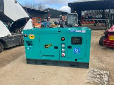 BRAND NEW AND UNUSED 50KVA GENERATOR, 4 CYLINDER ENGINE, CHOICE OF 2 *PLUS VAT*