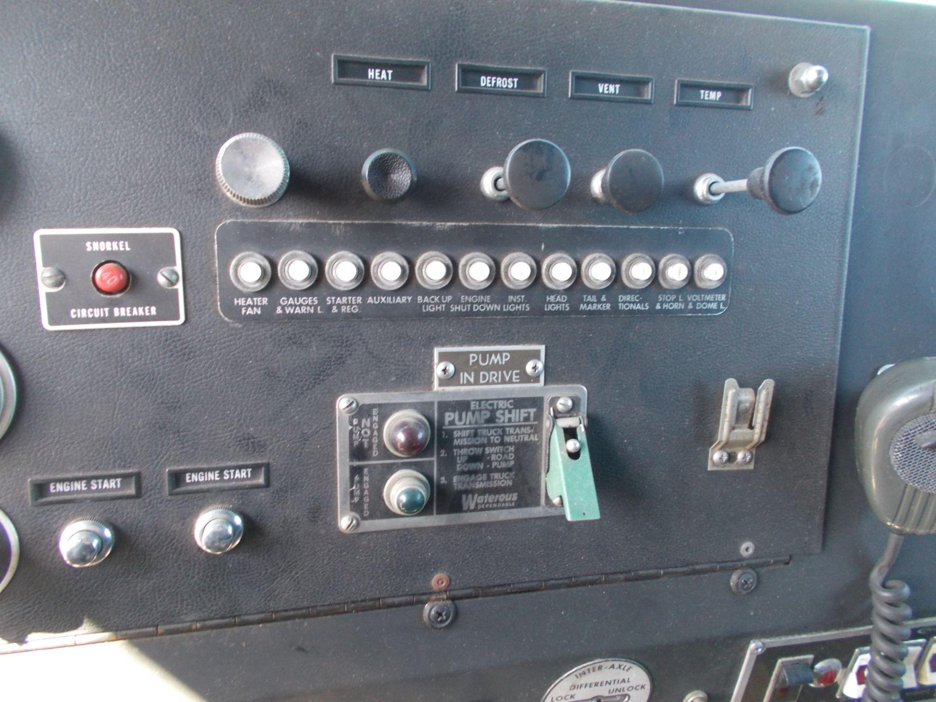 1978 HENDRICKSON 871-LPS SNORKEL FIRE TRUCK, U.S. IMPORT, 7.0 LITRE DETROIT DIESEL ENGINE *PLUS VAT* - Image 18 of 22