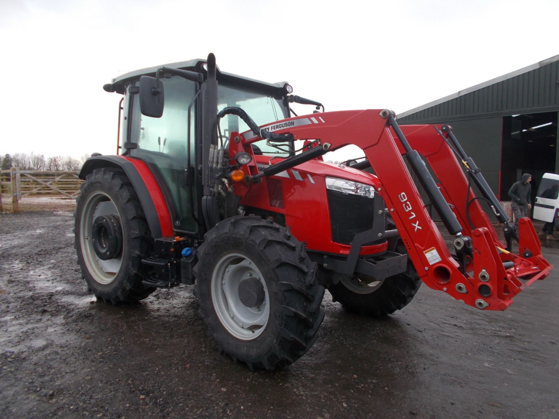 2018 MASSEY FERGUSON 4710 4WD TRACTOR WITH LOADER, AGCO 3.3 LITRE 3CYL TURBO DIESEL *PLUS VAT* - Image 2 of 21