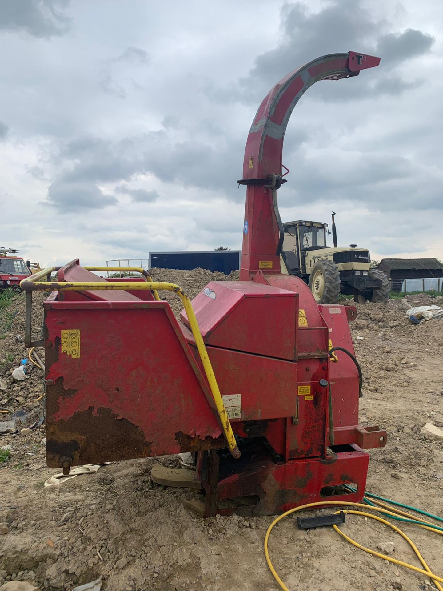 2007 TP 250 PTO WOOD CHIPPER WITH HYDRAULIC INFEED *PLUS VAT* - Image 2 of 9