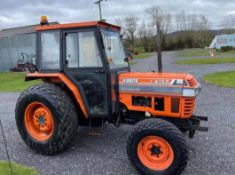 KUBOTA L4150 COMPACT TRACTOR, RUNS AND DRIVES, 3 POINT LINKAGE, 50HP, SHOWING 1236 HOURS *NO VAT*