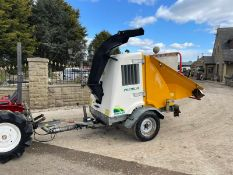 2007 SAELEN PREMIUM WOOD CHIPPER, RUNS AND CHIPS, IN GOOD CONDITION, LOW 160 HOURS *PLUS VAT*
