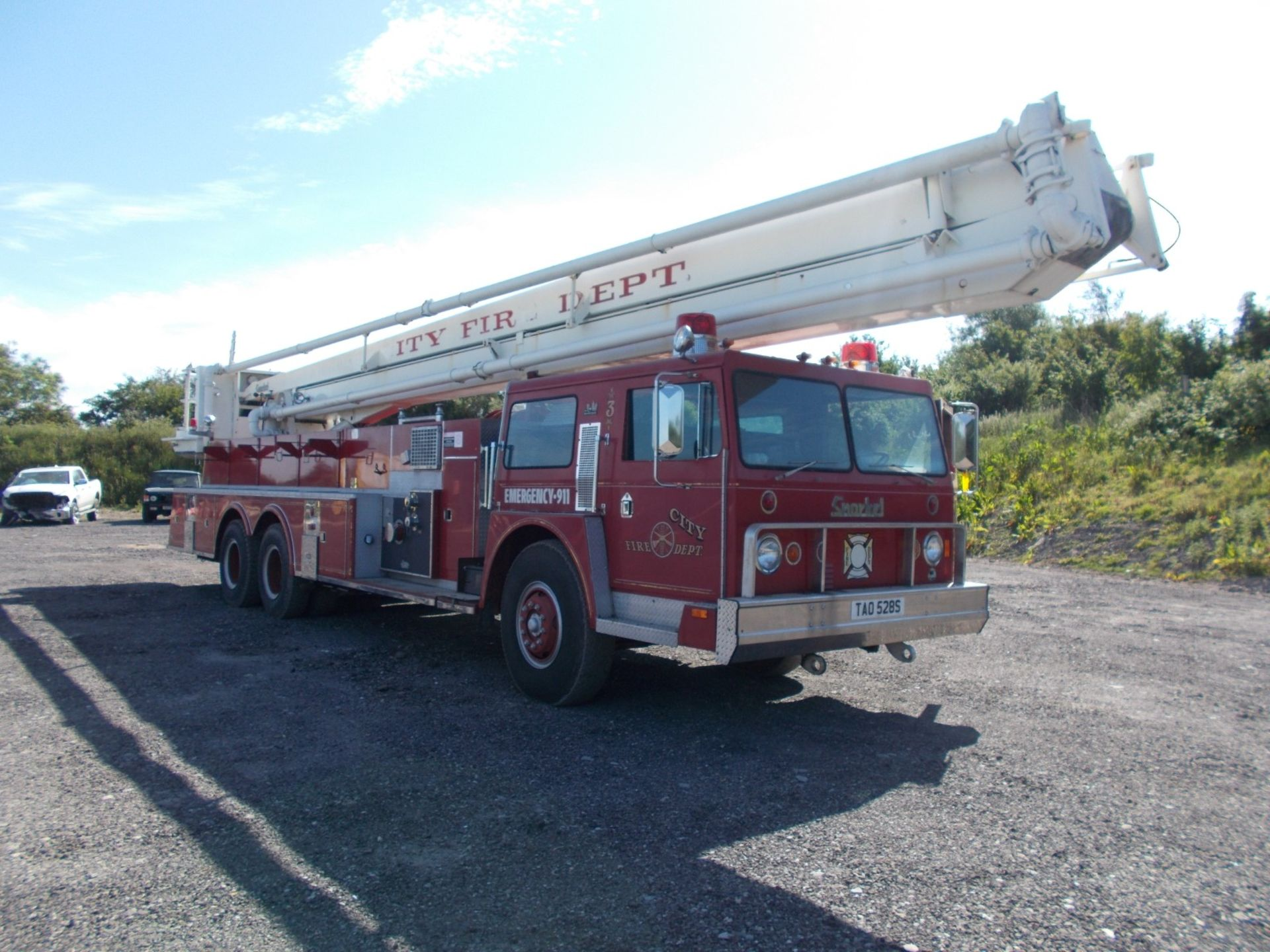 1978 HENDRICKSON 871-LPS SNORKEL FIRE TRUCK, U.S. IMPORT, 7.0 LITRE DETROIT DIESEL ENGINE *PLUS VAT* - Image 7 of 22