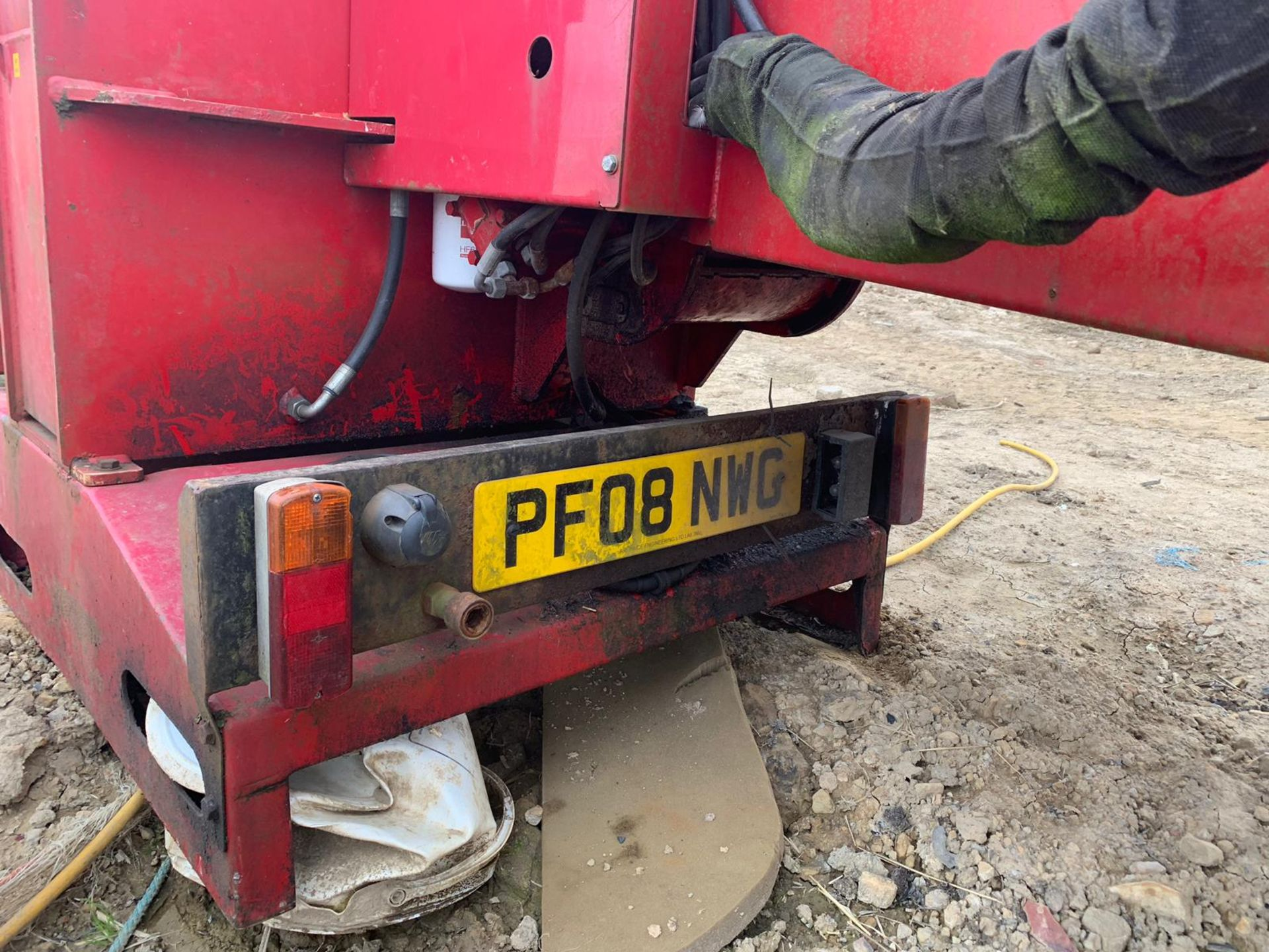 2007 TP 250 PTO WOOD CHIPPER WITH HYDRAULIC INFEED *PLUS VAT* - Image 9 of 9