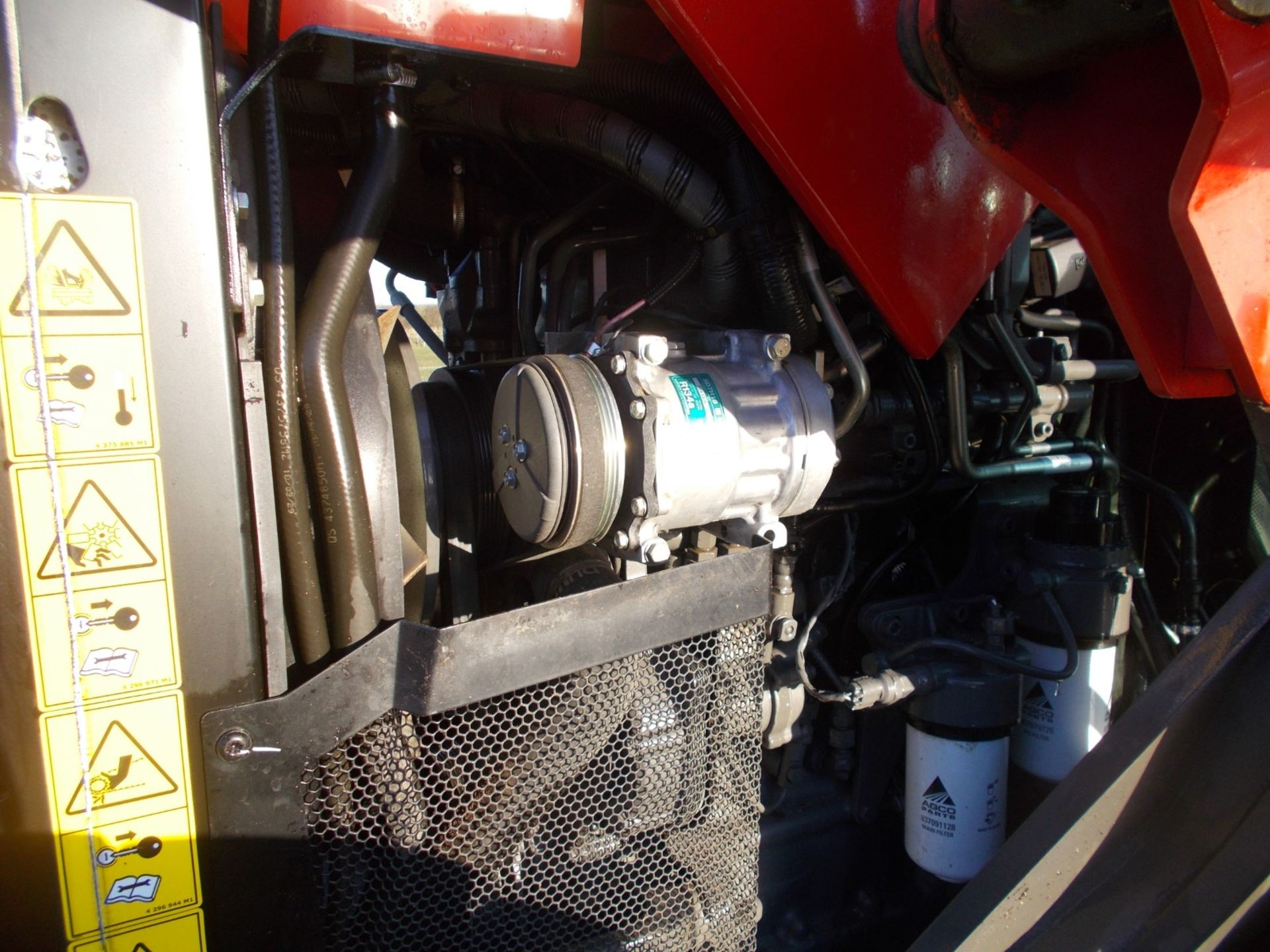 2018 MASSEY FERGUSON 4710 4WD TRACTOR WITH LOADER, AGCO 3.3 LITRE 3CYL TURBO DIESEL *PLUS VAT* - Image 12 of 21