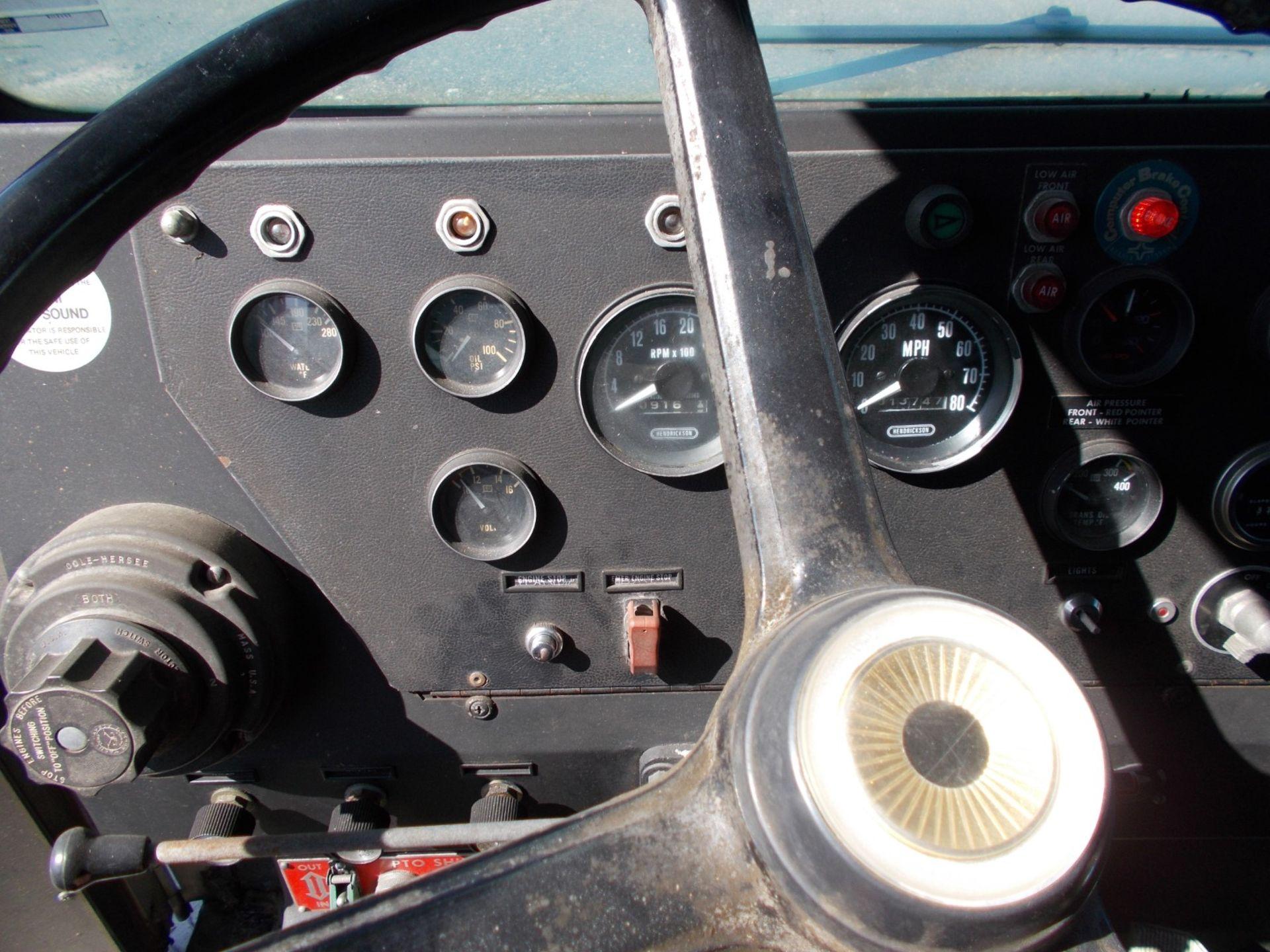 1978 HENDRICKSON 871-LPS SNORKEL FIRE TRUCK, U.S. IMPORT, 7.0 LITRE DETROIT DIESEL ENGINE *PLUS VAT* - Image 19 of 22