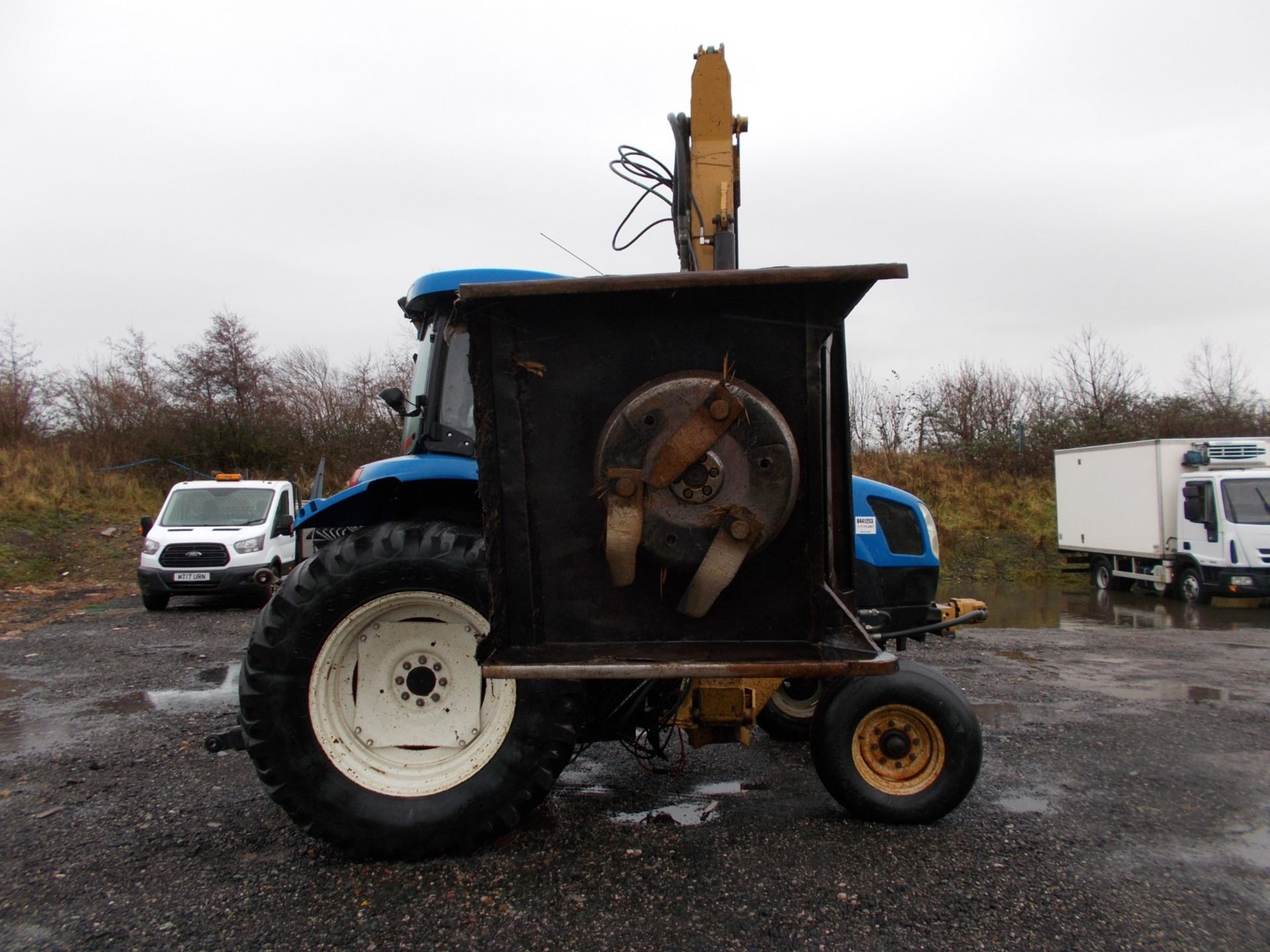 2003 NEW HOLLAND TS100A TRACTOR WITH MOWER ATTACHMENT, 4.5 LITRE 100HP TURBO DIESEL *PLUS VAT* - Image 12 of 24