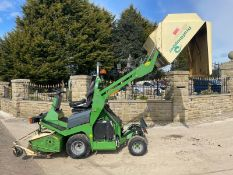 2012 AMAZONE PROFIHOPPER RIDE ON MOWER, RUNS, DRIVES AND CUTS, IN GOOD CONDITION *PLUS VAT*