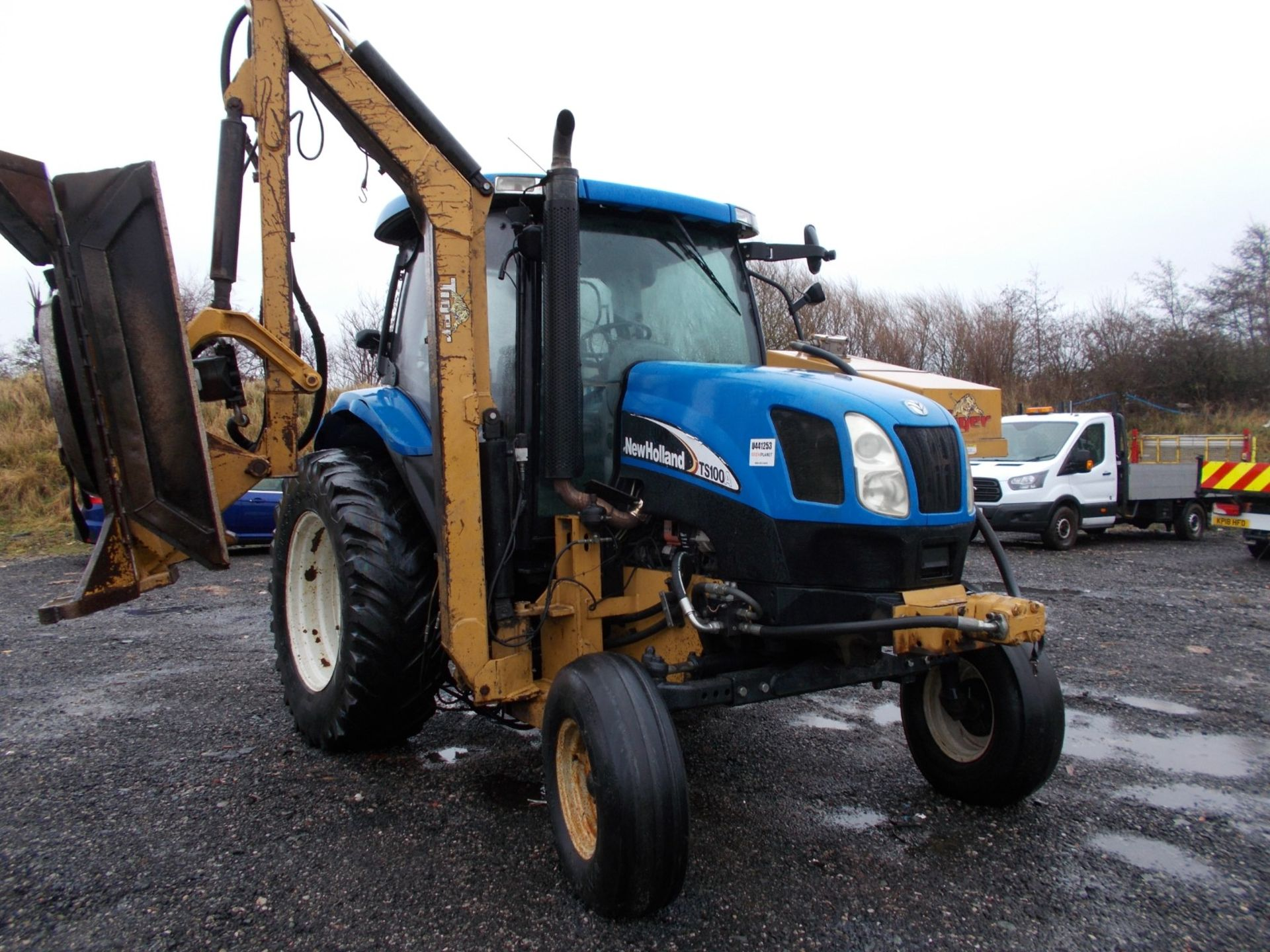 2003 NEW HOLLAND TS100A TRACTOR WITH MOWER ATTACHMENT, 4.5 LITRE 100HP TURBO DIESEL *PLUS VAT* - Image 13 of 24