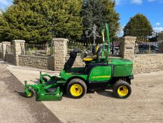 JOHN DEERE 1445 RIDE ON MOWER, RUNS DRIVES AND CUTS, IN USED BUT GOOD CONDITION *NO VAT*