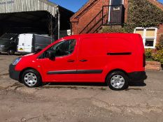 2016 PEUGEOT PARTNER S L2 BLUE HDI,1.6 DIESEL ENGINE, RED PANEL VAN *PLUS VAT*