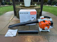 BRAND NEW AND UNUSED STIHL BG86C-3 LEAF BLOWER *NO VAT*