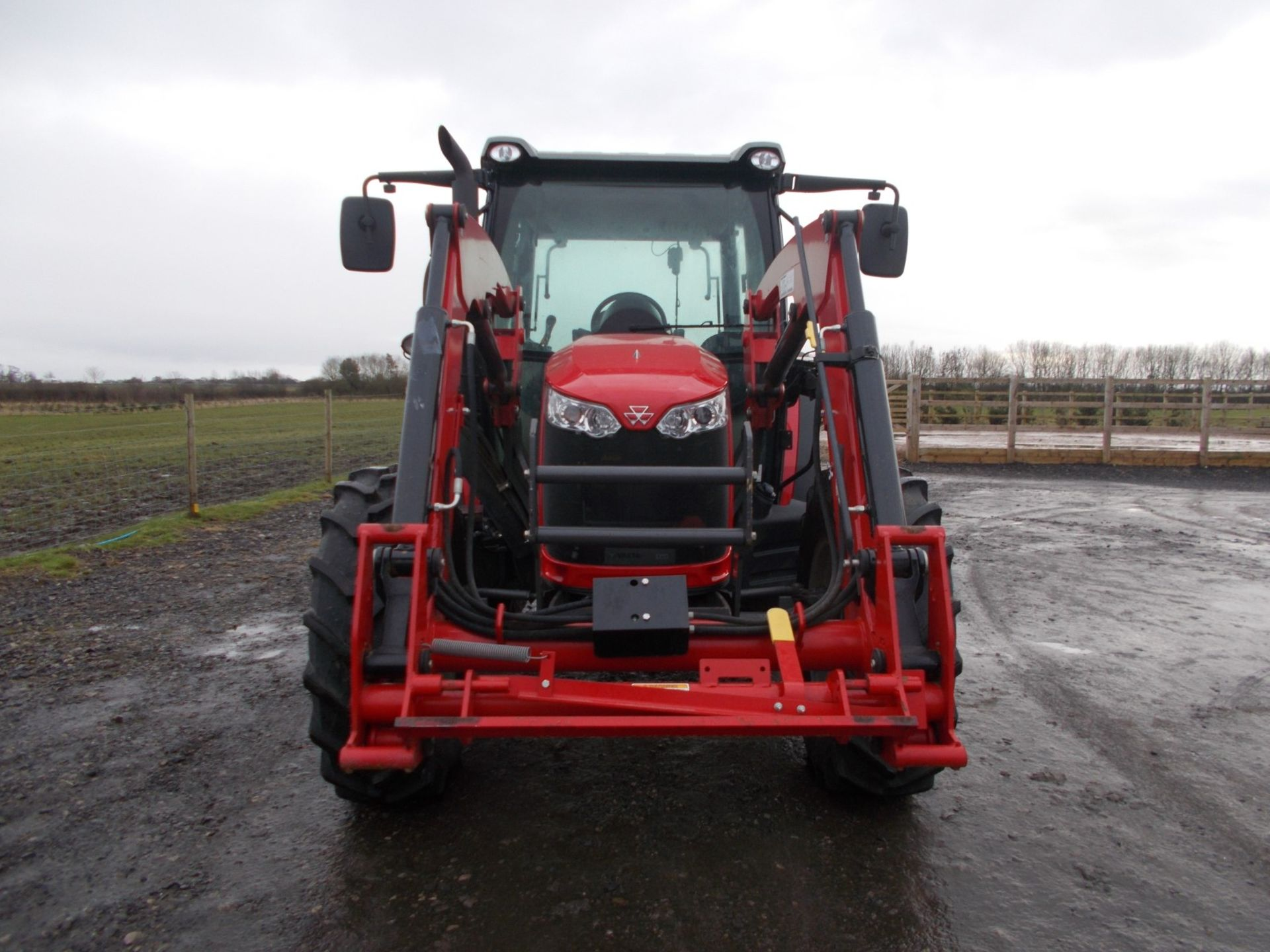 2018 MASSEY FERGUSON 4710 4WD TRACTOR WITH LOADER, AGCO 3.3 LITRE 3CYL TURBO DIESEL *PLUS VAT* - Image 3 of 21