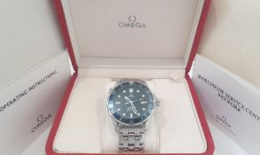 Omega Seamaster 41mm Full Size JAMES BOND Wave Dial Mens Watch *NO VAT*
