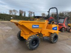 2004 THWAITES 3 TON SWIVEL DUMPER, GOOD TYRES ALL ROUND, 2900 HOURS, GOOD ENGINE *PLUS VAT*
