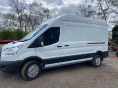 2016 FORD TRANSIT 350, WHITE PANEL VAN, 2.2 DIESEL ENGINE, SHOWING 0 PREVIOUS KEEPERS *PLUS VAT*
