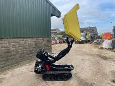 2014 CORMIDI C6.50 TRACKED DUMPER, RUNS DRIVES AND TIPS, PETROL ENGINE *PLUS VAT*