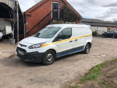 2017 FORD TRANSIT CONNECT 240 WHITE PANEL VAN, SHOWING 0 PREVIOUS KEEPERS * PLUS VAT*
