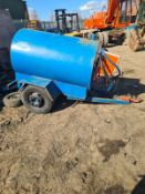 1000 LITRE FUEL BOWSER TRAILER *PLUS VAT*