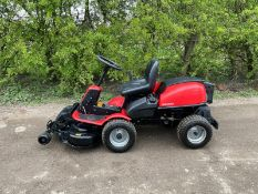JONSERED FR2215MA RIDE ON MOWER, RUNS DRIVES AND CUTS, PIVOT STEERED, HYDROSTATIC *NO VAT*