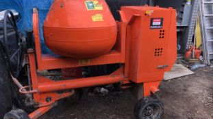2019 BELLE PREMIER 100XT CEMENT MIXER, RUNS AND WORKS, YANMAR DIESEL ENGINE *NO VAT*