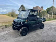 2018/68 KAWASAKI MULE 4X4 PRO DX BUGGI, 993CC DIESEL ENGINE, RUNS AND DRIVES *PLUS VAT*