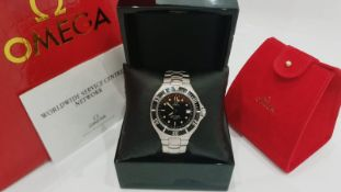Omega Seamaster Mens Watch Date Feature Steel *NO VAT*