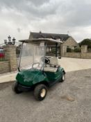 2008 YAMAHA GOLF BUGGY, DRIVE AND WORK OKAY, BATTERY OPERATED, IN GOOD CONDITION *NO VAT*