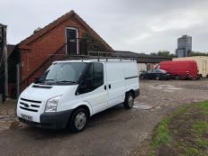2007 FORD TRANSIT 110 T2G0S FWD PANEL VAN, 2.2 DIESEL ENGINE, AIR CONDITIONING *NO VAT*