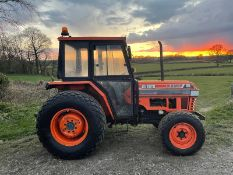 KUBOTA L4150 COMPACT TRACTOR, RUNS AND DRIVES, 50HP, CABBED, 1235 hrs ! 3 POINT LINKAGE *NO VAT*