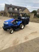 ISEKI SXG19 COMMERCIAL DIESEL RIDE ON LAWN MOWER TRACTOR HIGH TIP COLLECTOR *NO VAT*