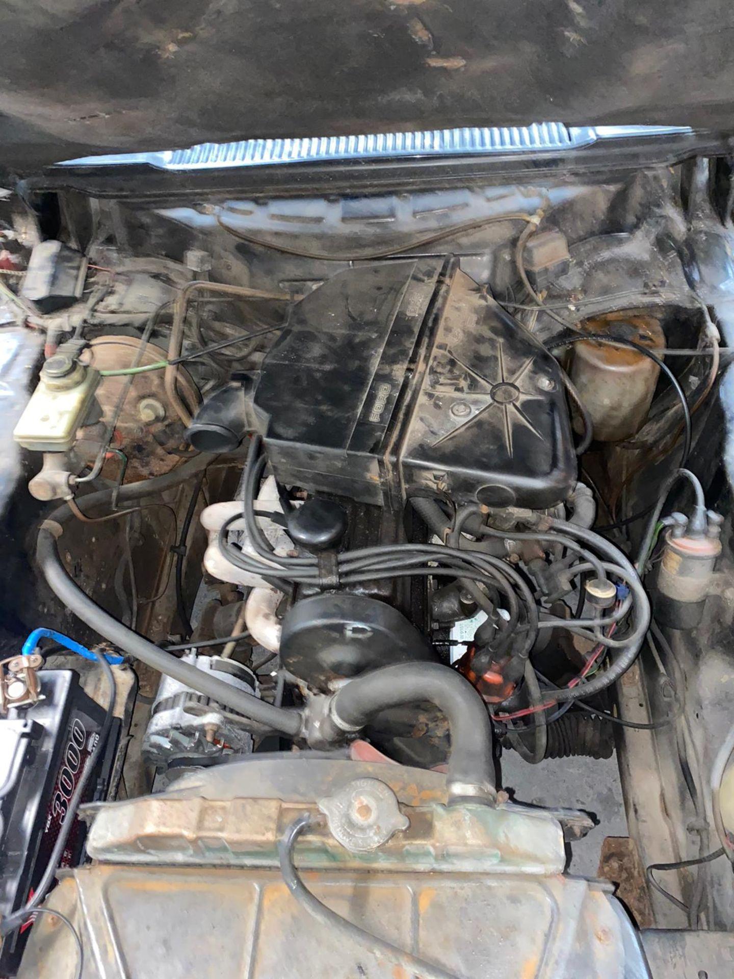 1986/C REG FORD CAPRI LASER AUTO 2.0 PETROL BLACK 3 DOOR *NO VAT* - Image 27 of 32