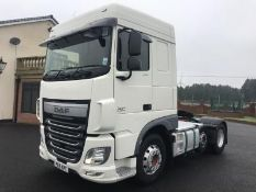 2015 DAF XF 106.460 6X2 TRACTOR, MANUAL GEARBOX, AIR CONDITIONING, TWIN BUNKS *PLUS VAT*