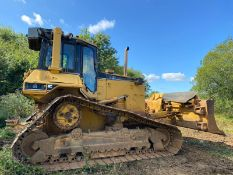 CAT D6M DOZER, RUNS AND WORKS, 6 WAY PAT BLADE, GOOD TRACKS AND SPROCKETS, YEAR 1998 *PLUS VAT*