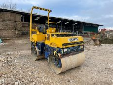 BOMAG BW135 AD ROLLER, RUNS, DRIVES AND VIBRATES, ROAD REGISTERED, CANOPY, 1350MM DRUMS *PLUS VAT*