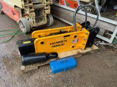 Brand New And Unused Hanmen HMB680 Breaker Suitable For 5-8 Ton Excavator *PLUS VAT*