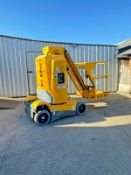ACCESS PLATFORM HAULOTTE STAR 10, WORKING HEIGHT 10m, ONLY 316 HOURS, YEAR 2012.