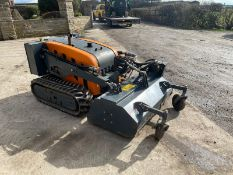 2014 Niko Remote Controlled Bank Mower With Flail Deck *PLUS VAT*