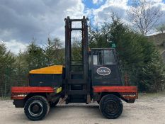 LANSING LINDE 6 TON FORKLIFT, 2 STAG MAST, RUNS DRIVES AND LIFTS, YEAR 2001 *PLUS VAT*